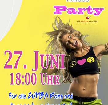 Bilder der Zumba Party