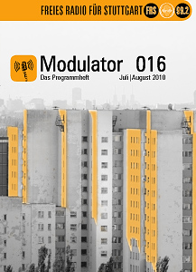 Das Titelblatt des Modulators Nr. 16