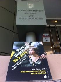 Schwarzer Donnerstag 30.09.2010 vor Verwaltungsgericht Stuttgart