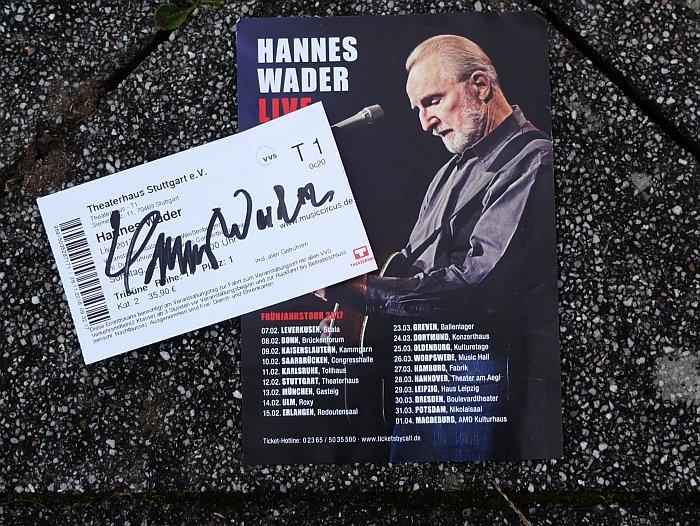 Konzert Hannes Wader