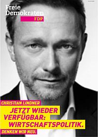 Wahlplakat FDP
