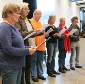 Zu später Stunde: Auftritt des Chores Foto: © M. Seehoff