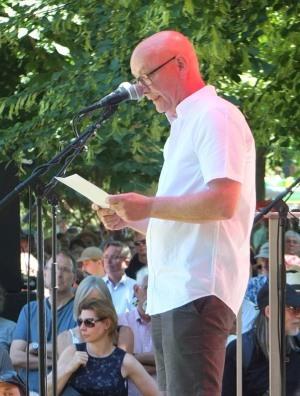 Hans D. Christ, Direktor des Württemberger Kunstvereins