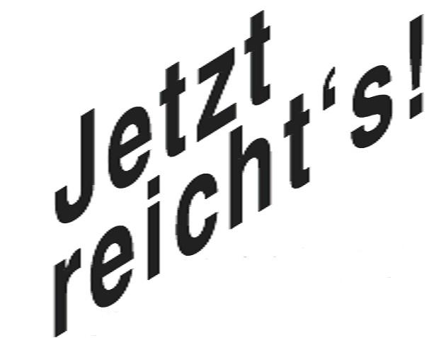 Jetzt Reicht's Logo