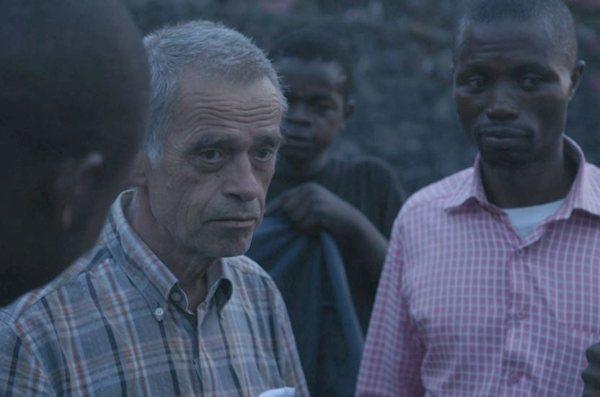 Der Deutsche Peter Merten fühlt sich in Goma wohl und will auch mit 65 Jahren nicht aufhören.
