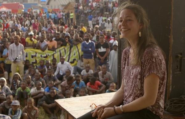 Anne-Laure, eine junge Belgierin