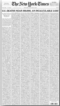 New York Times Titelliste