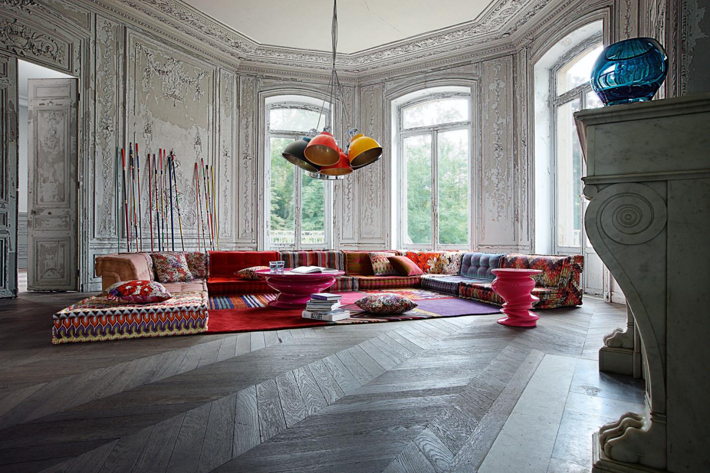 roche bobois mah jong modular sofa preis sleeper with foam mattress kaufen brokeasshome