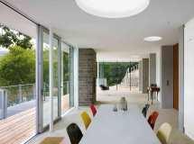 Kleines Haus Stausee Moderne Einfamilienhuser