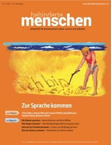 Cover BEHINDERTE MENSCHEN mit Bericht über den Erfolg von Ulrike Jocham, der Frau Nullschwellle zum erreichten Nullschwellen-Runderlass in Baden-Württemberg