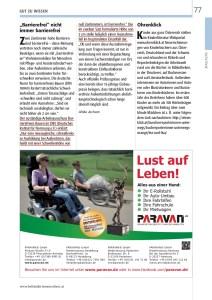 Die bedeutende Nullschwellen-Stellungnahme aus der Fachzeitschrift Behinderte Menschen vom Arbeitsausschuss der DIN 18040 aus 2013, entstanden durch eine Anfrage beim DIN e.V. von Ulrike Jocham, der Frau Nullschwelle