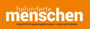 Logo der Fachzeitschrift BEHINDERTE MENSCHEN als Medienpartner für das Nullschwellen-Seminar von der Frau Nullschwelle
