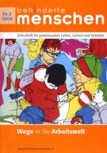 Wie inklusives Wohnen neue Arbeit schafft - ein Artikel von Ulrike Jocham in BEHINDERTE MENSCHEN Ausgabe 5-2008