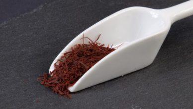 Safran kann die Sehstärke verbessern