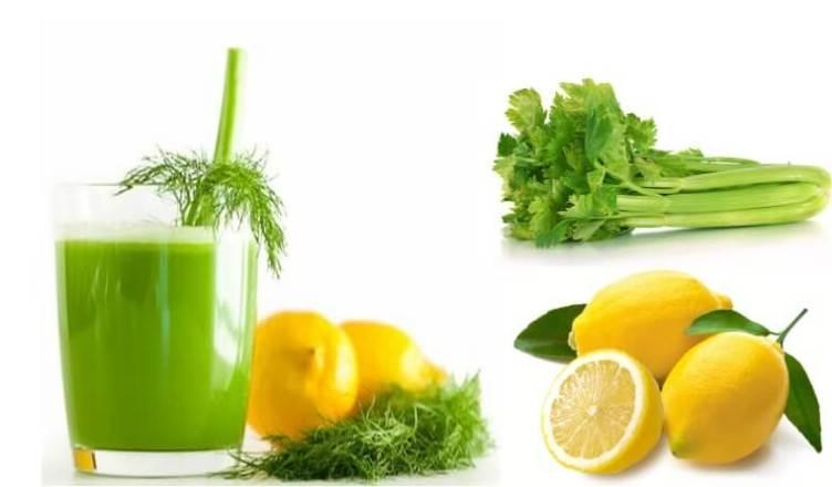 Diese Zitronen und Sellerie Mischung hilft bei Diabetes