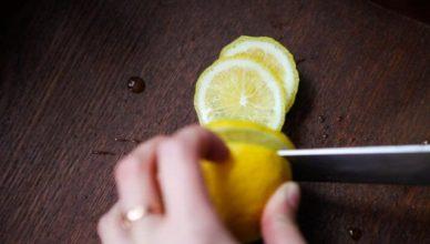 Zitronen im Schlafzimmer