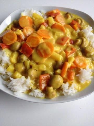 Rezept: Kokos-Reis-Pfanne