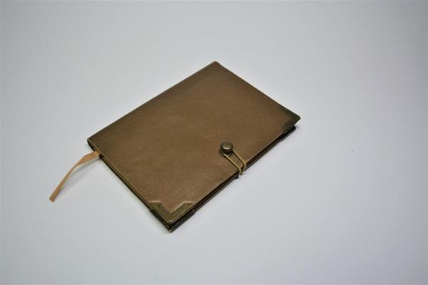 Notizbuch aus Leder Scrapbook