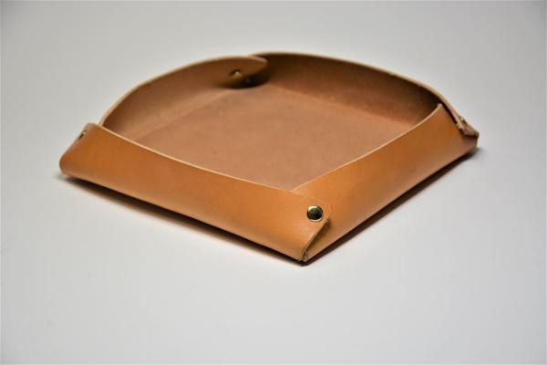Utensilo Würfelschale Lederschale Taschenleerer Ablageschale