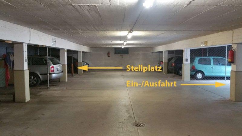 Stellplatz in Tiefgarage zu vermieten - Untergiesing-Harlaching
