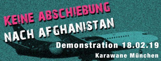 Karawane Aufruf zur Demo gegen Abschiebung nach Afghanistan