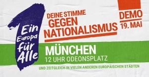 Ein Europa für alle - Deine Stimme gegen Nationalismus