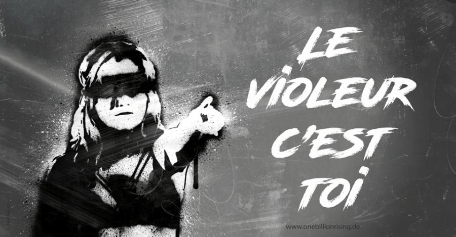 El violador eres tú - Le violeur c'est toi - #lastesis #unvioladorentucamino