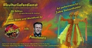 Kulturlieferdienst - Pakobeatz - DJ Venus - Stelzentheater