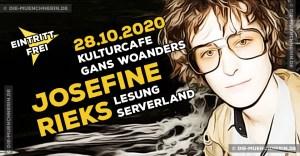 Josefine Rieks - Lesung im Kulturcafe Gans Woanders
