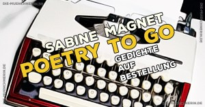 Sabine Magnet - Poetry to go