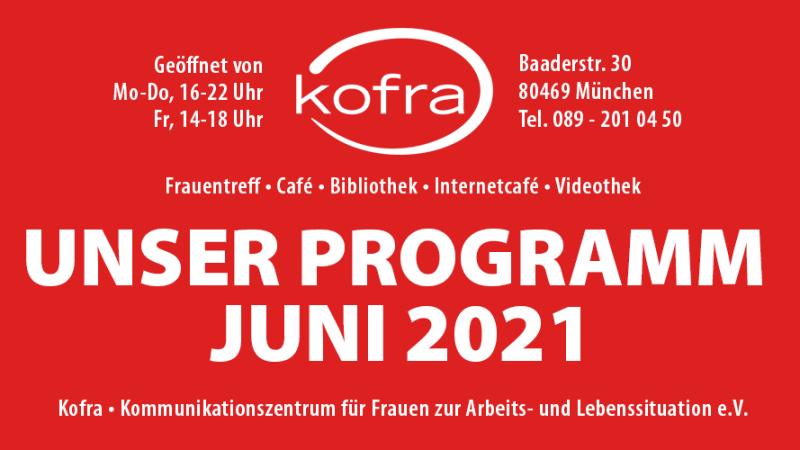 Kofra - Programm Juni 2021