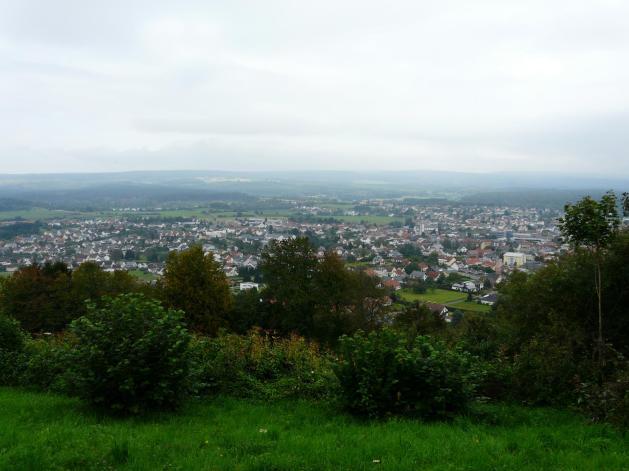 Oppig-Grät-Weg Blick auf Losheim