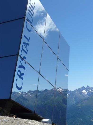 Crystal Cube, Serfaus, Österreich