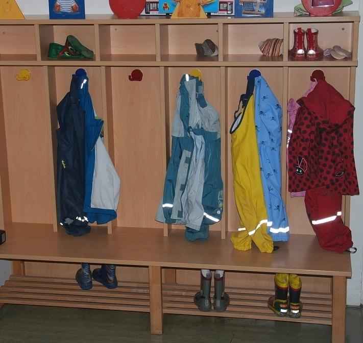 Garderobe Kindergarten  Garderoben  Mbel  Montage