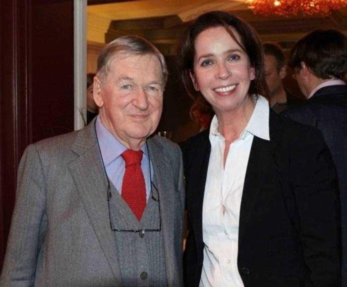 Yvonne Cornelius interviewt den Weinkritiker Hugh Johnson