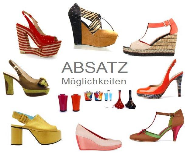 Absatzschuhe zeigen Vielfalt  Die Welt der Schuhe