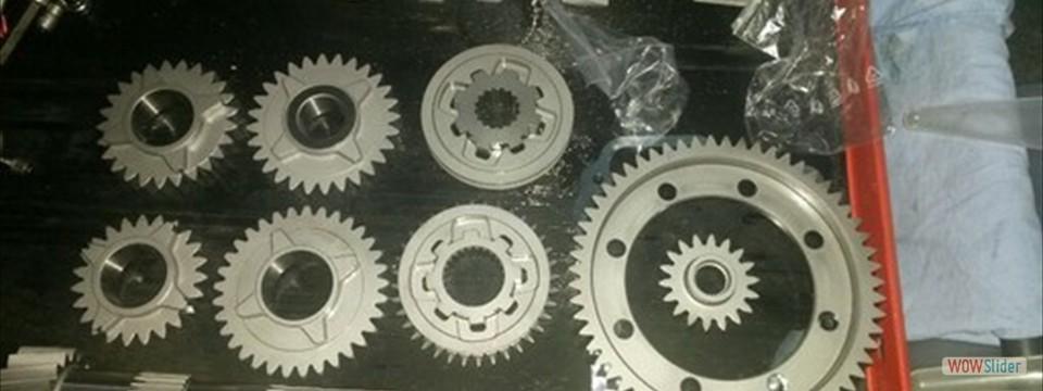 Umbau auf Geradeverzahntes Getriebe