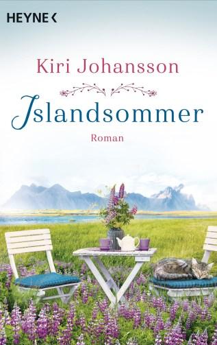 Buchcover Islandsommer von Kiri Johansson