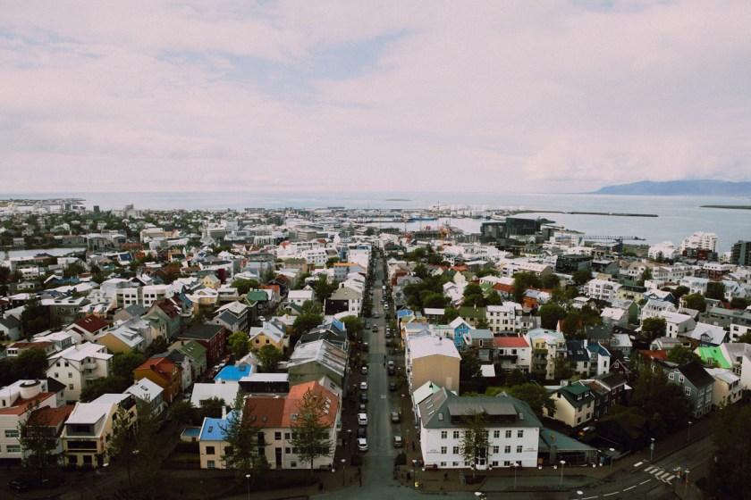 Reykjavík, Stadtansicht