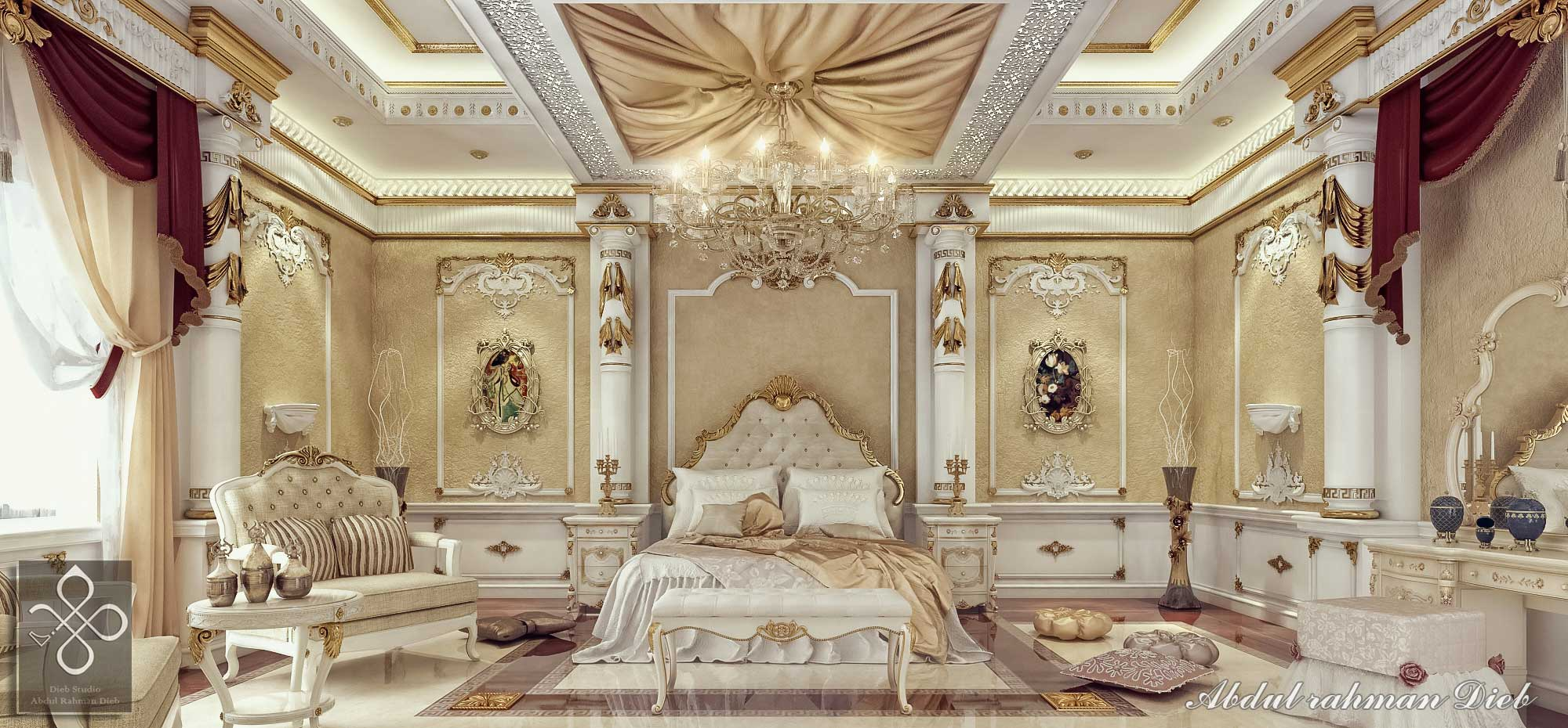 Royal Bedroom In Qatar Diebstudio