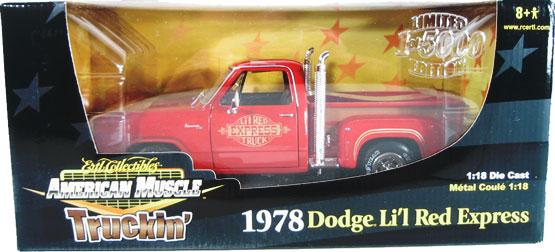 1978 Dodge Pickup Lil Red Express Truckin Series