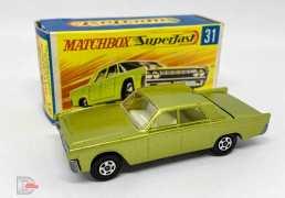 Matchbox Superfast 31a Lincoln Continental