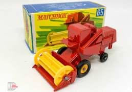 Matchbox Regular Wheels No.65c CLASS Combine Harvester