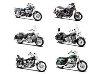 Harley Davidson Diecast Car Models for Man Cave Decor