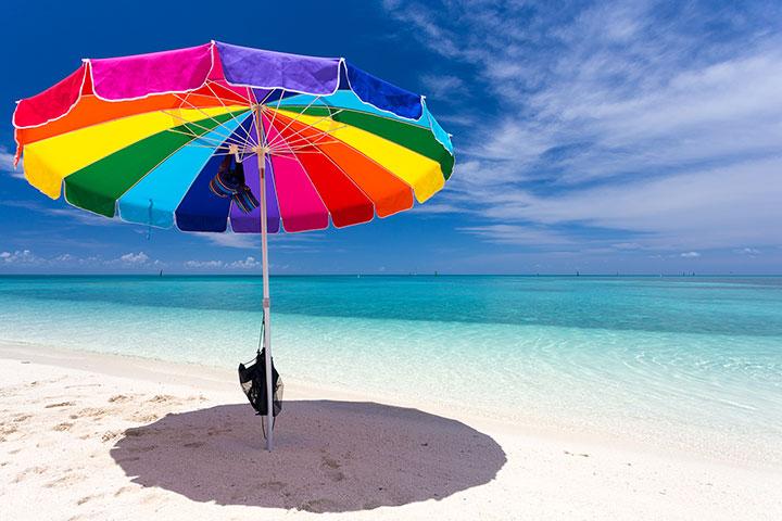 Strand in den Florida Keys