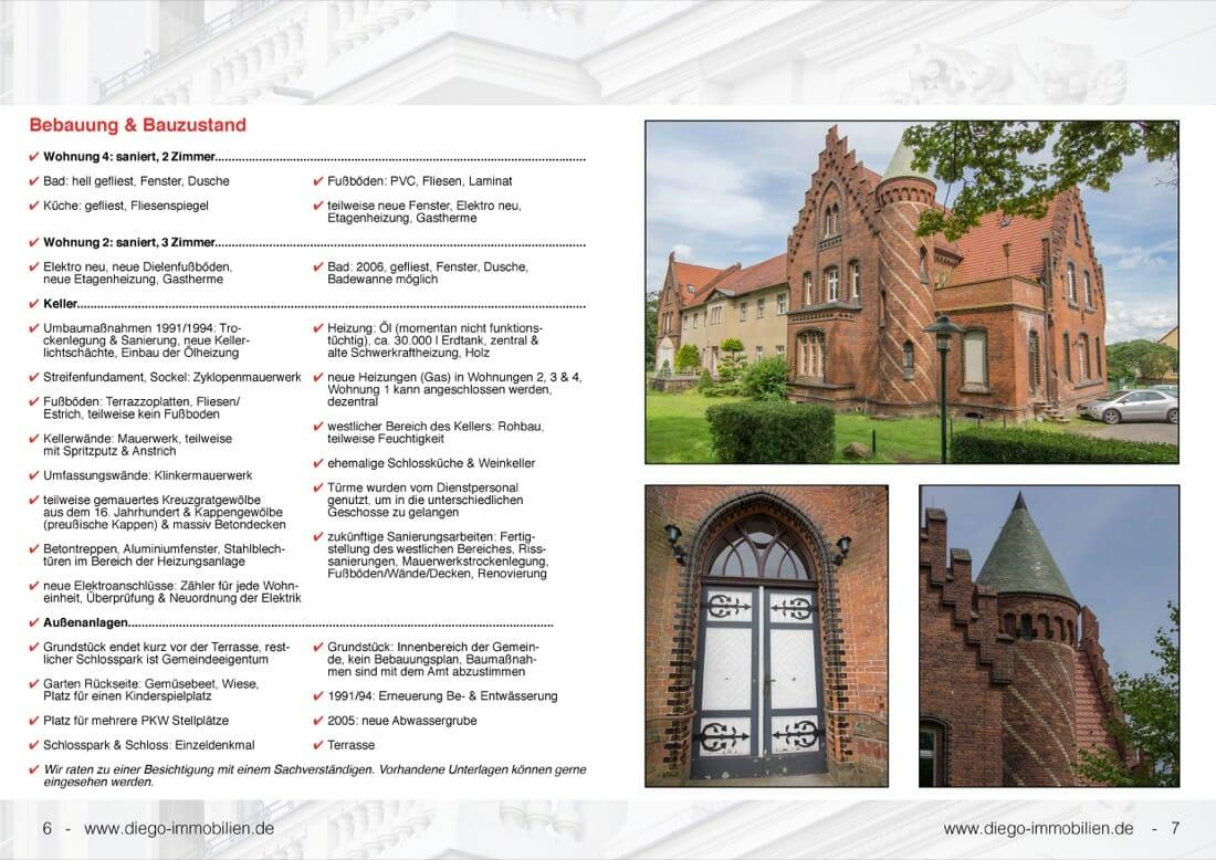 Schloss Jahnsfelde › Immobilienmakler Berlin Brandenburg