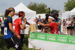 Elena Roos (SUI), WOC 2018  relay, Diego Baratti (9)