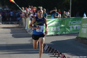 Jonas Leandersson (SWE), WOC2018 sprint relay, Diego Baratti (5)