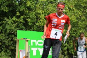 Julia Jakob (SUI), WOC 2018  relay, Diego Baratti  (2)