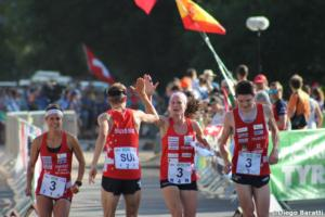 Switzerland, WOC2018 sprint relay, Diego Baratti (1)